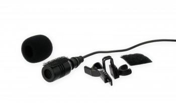 Steck-Mikrofon mit 4 m Kabel 3,5 mm Mono