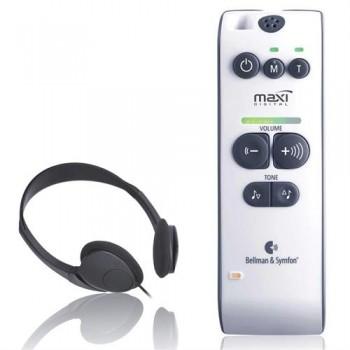 Audio Maxi mobiler Hörverstärker inkl. Kopfhörer +142 dB