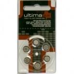 Ultima Hörgerätebatterie 312 braun