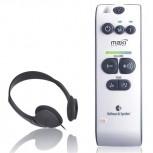 Audio Maxi mobiler Hörverstärker inkl. Kopfhörer +140 dB