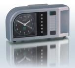 TimeFlash Wecker, silber-metallic