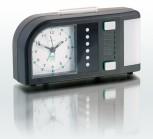 TimeFlash Wecker, schwarz